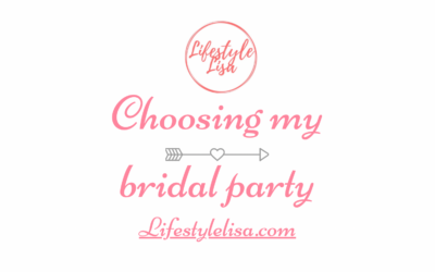 Choosing my bridal party