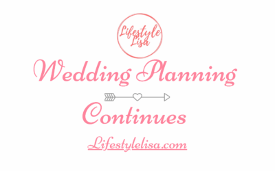 Wedding Planning Continues