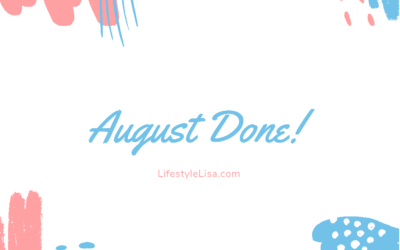 August Done!